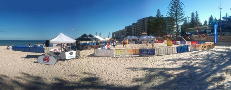 Glenelg Beach Volleyball