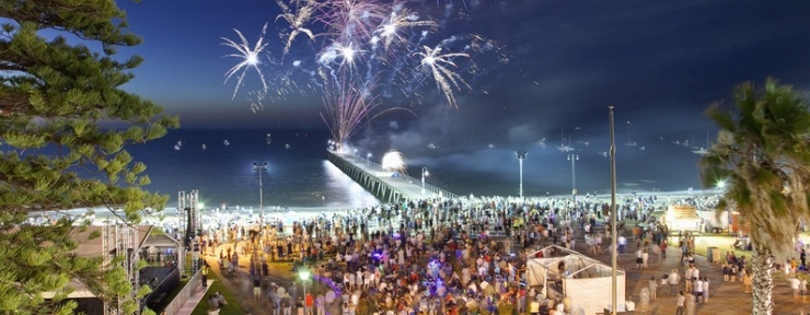 Glenelg Jetty Fireworks New Years Eve